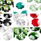 Lot of 10 Swarovski Crystal 6mm Facet Marguerite Lochrose Flower Rondelle Beads
