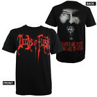 Authentic DEEDS OF FLESH Band Cannibal Face Logo T-Shirt S - 2XL Official NEW