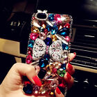 Pearl Rhinestone Fimo Flowers skins Case cover for Apple iPhone6 6 plus 4S 5S