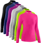 Under Armour Ladies ColdGear Compression Mock LS Baselayer Top