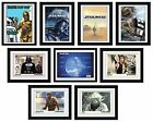 STAR WARS - Framed Collector Prints 15x20 (Fully Licensed Hi-Resolution Artwork)