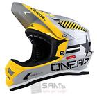 O'Neal Fury Fidlock DH Helm Evo AFTERBURNER Silber FR MTB AM Dirt Downhill DH