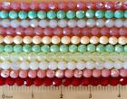 50 Preciosa Czech Glass 8mm Fire Polished Faceted Opal Shades Beads U Pick Color