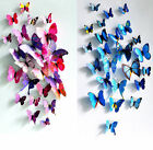New Sticker Art Design Decal Wall Stickers Home Decor Decorations 3D Butterfly