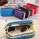 Elegant Ladies Women Clutch Box Evening Party Glitter Chain HandBag Wallet Hot