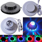 8W RGB Magic Disco DJ Bar Stage Lighting Effect Sunflower Lamp 48 LED Flash Bulb