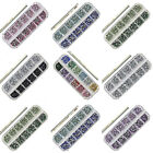 3000 Pcs NAIL ART RHINESTONE 2MM ROUND DIAMANTE GEMS - CHOOSE FROM 7 COLOUR SETS