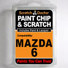 MAZDA 6 TOUCH UP PAINT Stone Chip Scratch Car Repair Kit 2003-2007