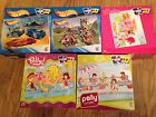 MATTEL 100 Pcs Hotwheels Barbie Polly Pocket Jigsaw Puzzles Boys Girls Kids NEW