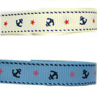 "5y 15y 25y 50y 100y 9mm 3/8"" Premium Anchor Grosgrain Ribbon All Occasions Eco"