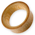 4-50 mm Bambus Holz Flesh Tunnel ohrplug piercing schmuck expander horn knochen