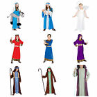KIDS BOYS GIRLS CHRISTMAS NATIVITY FANCY DRESS COSTUME OUTFIT JOSEPH MARY CHILDS