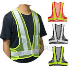 Reflective Vest High Visibility Warning Traffic Construction Safety Gear NEW