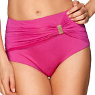 NEW GOSSARD SIENNA MAGENTA HIGHWAIST BIKINI SHORTS/BRIEFS 8864