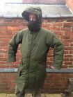 Swedish Army M90 Winter Quilted Winter Snow  Parka Integrated Hood