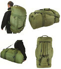 Army Combat Military Shoulder Travel Holdall Kit Equipment Bag Rucksack Duffle
