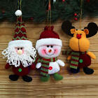 1Pc New Fabric Hang Decorations Christmas Doll Decor Christmas Holiday Gift