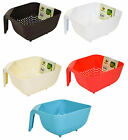 Hobby Happy Life Plastic Square Kitchen Strainer Colander