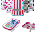 For Apple TUFF Hybrid Rubber Hard Snap-on Case Cover Colors
