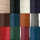 Round Genuine Goat Leather Bead Cord Cording For Beading Sold By The Yard