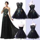 XMAS HOT Retro Long Evening Ball Gown Prom Party Cocktail Bridesmaid Debut Dress