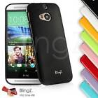 Colorful Silicone Slim Thin Gel TPU Rubber Case Cover for HTC One M8