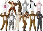 Adult Wild Animals Fancy Dress Party Animal Onesie Romber suit