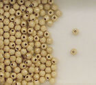 Gold Filled Beads, 3mm Round Stardust Design, New