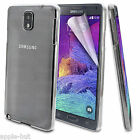 Ultra Thin Stylish Slim Crystal Clear Hard Back Case For Samsung Galaxy Note 4