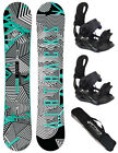 SNOWBOARD SET AIRTRACKS DUST WIDE+BINDUNG RAGE FASTEC 180+BAG/150 155 159 163cm/