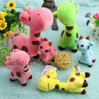 1Pc Lovely Animal Dolls Giraffe Dear Soft Plush Toy Baby Kid Birthday Party Gift