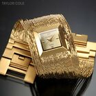 Taylor Cole Ladies Women's Tassel Square Dial 3 Colours Wrist Quartz Watch + Box