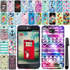 For LG Optimus L70 MS323 Rubberized HARD Protector Case Phone Cover + Pen