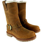 Womens Timberland Nellie Pull On Fur Lined Trim Buckle Winter Boot UK Sizes 3-8