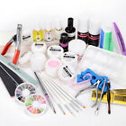 Kit Manucure uv gel ongles poussiere strass glitter acrylique capsule nail art