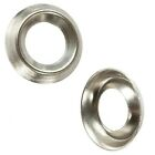 No. 12  NICKEL PLATED SCREW CUP WASHER SURFACE MOUNT - FREE UK DELIVERY