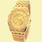 Luxury Mens Watches Diamond Metal Band Analog Quartz Fashion Wrist Watch Cheap