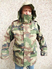 Genuine French Camouflage Wet Weather Jacket New Waterproof Breathable