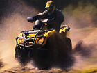 QUAD BIKE 02 FRAMED CANVAS ART PRINT A0 A1 A2