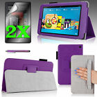 """For 2014 Amazon Kindle Fire HD 6"""" Case Stand Cover Auto Sleep/Wake+Accessories"""