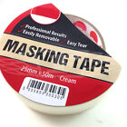 PROFESSIONAL EASY TEAR MASKING TAPE 25mm x  50m DIY / DECORATING / PAINTING