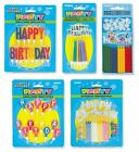HAPPY BIRTHDAY Cake Decorations & Candles {Unique} (Birthday/Cake/Party)