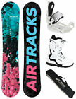 AIRTRACKS SNOWBOARD SET:BOARD STROKE+BINDUNG FLOW HAYLO+BOOTS+SB BAG/145 150 153