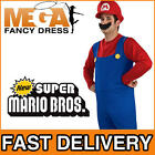 Super Mario Bros Men's Fancy Dress Adult Costume
