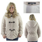 Kenneth Cole Reaction Women's Plus Size Faux Down Jacket Coat Hooded