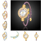 New Design Crystal Cover Stainless Steel Lady's Girl's Bracelet Wrist Watch
