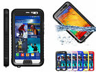Waterproof Shockproof Snowproof Case w/Button for Samsung Galaxy Note 3 III