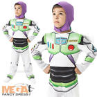 Buzz Lightyear Boys Fancy Dress Disney Toy Story Kids Childrens Costume Outfit