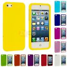Color Hard Snap-On Rubberized Case Skin Cover Accessory for iPhone 5 5G 5th