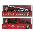 Professional Hair Straighteners Zebra Animal Print Black & White or Red & Black